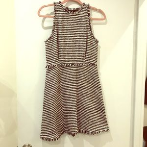 Zara Tweed Spring Dress